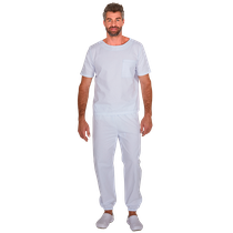 Pijama Cirurgico Masculino Biosafety Branco - FUN WORK