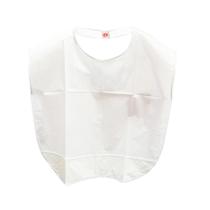 Babador Plástico Branco - Adulto - JON