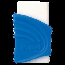 Borracha Branca c/ Capa Plástica Azul
