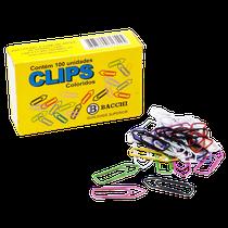 Clips 3/0 c/ 50 Unidades Colorido