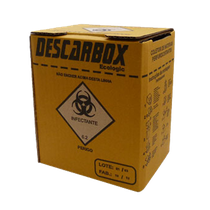 Coletor Perfurocortantes 3L - DESCARBOX