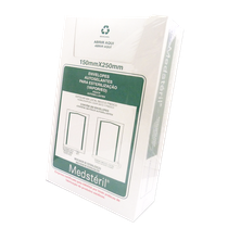Envelope para Esterilização Autosselante 15 x 25cm - 200 Unid.