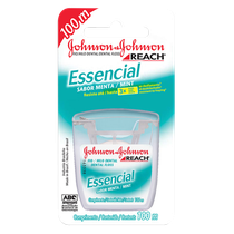 Fio Dental J&J Essencial Menta - JOHNSON & JOHNSON