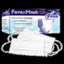 Máscara Descartável Tripla c/ Elástico