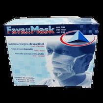 Máscara Descartável Tripla c/ Tiras