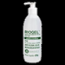 Álcool Gel Antiséptico Riogel com Pump 70% 430g