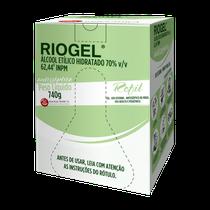 Álcool Gel Antiséptico Riogel 70% 740g