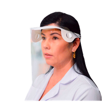 Protetor Facial em PET com Elástico Grosso - Desmontado - DELLO