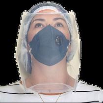 Protetor Facial Transparente com Elástico