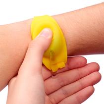 Pulseira de Silicone Biossegurança Amarelo - ORTHO PAUHER