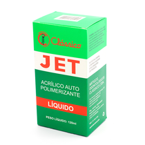 Resina Jet Líquido 120ml - CLÁSSICO