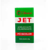 Resina Acrílica Jet Pó 220g Incolor - CLÁSSICO