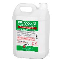 Álcool Rialcool 70° 5L - RIOQUÍMICA