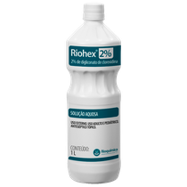Antisséptico Riohex 2% - Solução Aquosa 1L