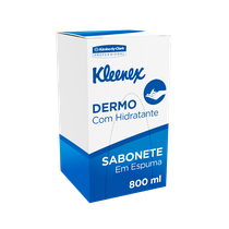 Sabonete Kleenex Dermo Espuma Refil - 800ml - KIMBERLY CLARK