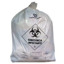 Saco p/ Lixo Hospitalar - 15L/4,50Kg