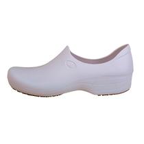 Sapato Antiderrapante Feminino - Branco - STICKY SHOES