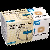 Scalp Descartável Luer Lock 23g - DESCARPACK