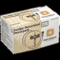 scalp Descartável Luer Lock 27g - DESCARPACK