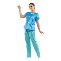 Pijama Cirúrgico Feminino Disney Frozen