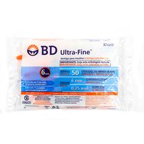 Seringa para Insulina Ultra Fine 0,5ml com Agulha 6 x 0,25mm 31G - BD