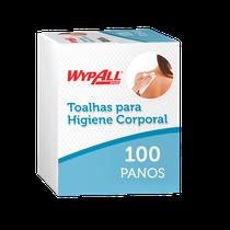 Toalha para Higiene Corporal Banho de Leito Wypall X60 Plus - KIMBERLY CLARK