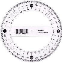 Transferidor Cristal 360°