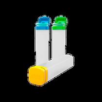 Tubos Organizadores Azul, Amarelo e Verde - DUX