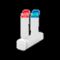 Tubos Organizadores Vermelho, Branco e Azul - DUX