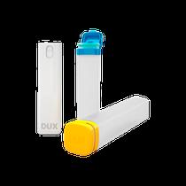 Tubos Organizadores Azul, Amarelo + Spray Branco - DUX