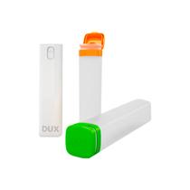 Tubos Organizadores Verde, Laranja + Spray Branco - DUX
