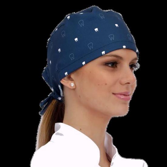 Gorro Bandana Teeth - Azul Marinho - FUN WORK