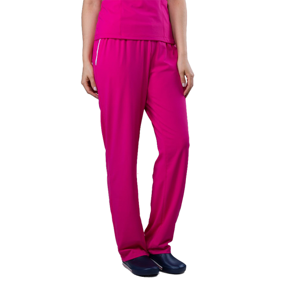 Calça Scrub Unissex Gabardine Pink - NAMASTÊ
