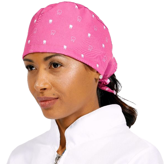 Gorro Bandana Teeth - Pink