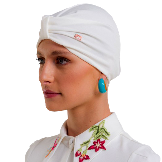 Gorro Turbante PatBo & Dra. Cherie - Off White
