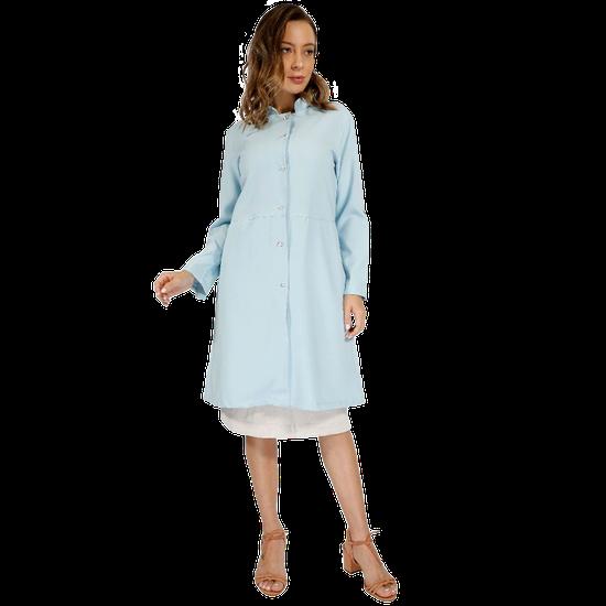 Jaleco Feminino Allure - Azul Claro