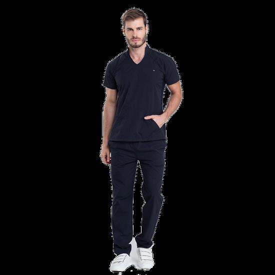 Pijama Cirúrgico Masculino Comfy Black - DRA. CHERIE